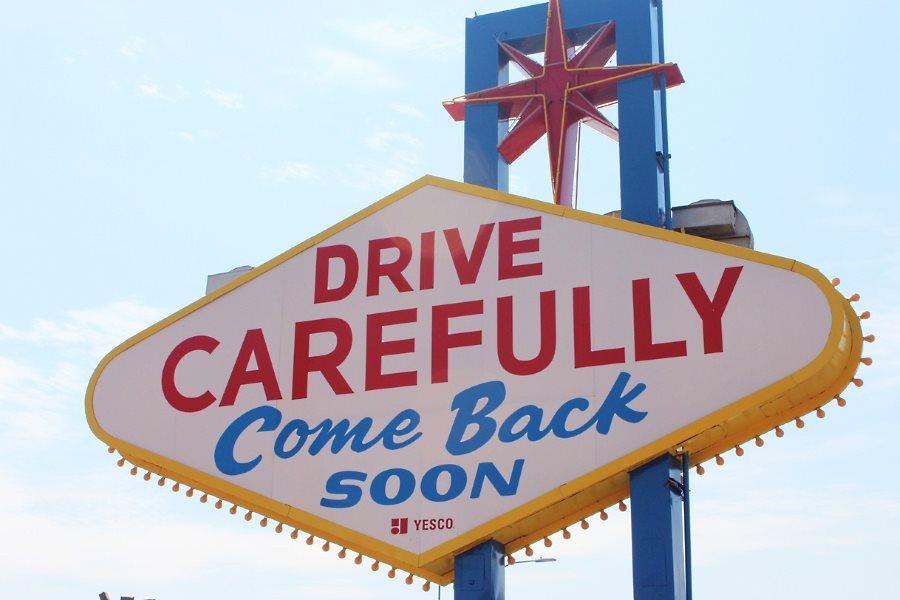 Conduisez avec prudence